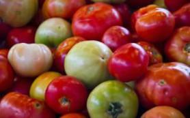 Яблоки и зеленые помидоры показаны пожилым людям