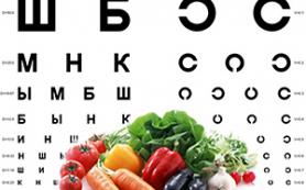 Диета для здоровых глаз и острого зрения
