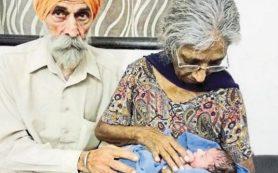 В Индии 70-летняя женщина впервые стала матерью