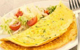 Белковый завтрак поможет похудеть