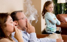 Пассивное курение негативно сказывается на сердечной деятельности
