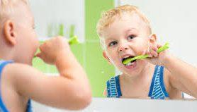 Дети и гигиена полости рта