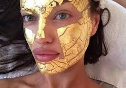 Золотая маска для кожи